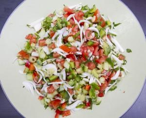 salade slata jida crudites
